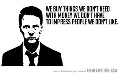 Best 'Fight Club' movie quote ever…
