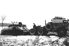 4e Division blindée en l'Offensive des Ardennes. Prises 30 décembre 1944 4th Armored Division in the Ardennes Offensive. Taken 30 December 1944