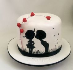 Valentine's Day Cake- Cakes by Ayomi