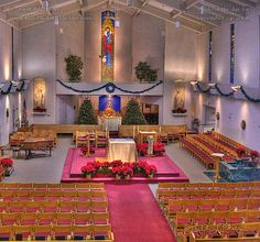 St Angela's Church, Pacific Grove, our parish, our kids' preschool and my employer