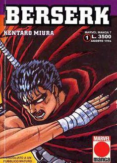 #Berserk, manga che unisce la cultura tradizionale giapponese e occidentale.