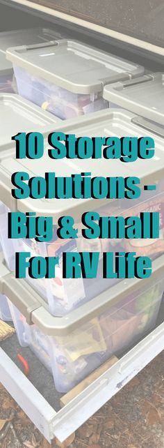 On an RV, not only is space important, but keeping your spaces organized and easy to maintain is critical to housekeeping, repairs and well…sanity. Homeschooling manipulatives, crafting suppl…