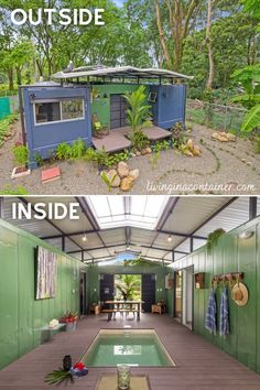 Building A Container Home, Container Buildings, Container House Plans, Container House Design, Shipping Container Home Designs, Tiny House Design, Shipping Containers, Tyni House, Tiny House Cabin