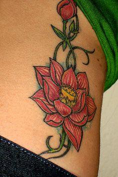 #tattoo #tattoos #lotus #flower