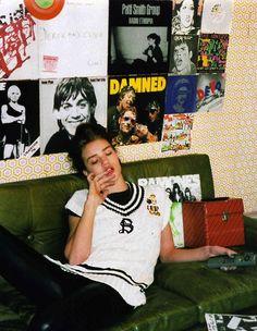 adult-paradox:   Elle UK, April 2005   SOFT GRUNGE BLOG†