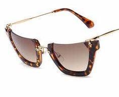 19b42eb5b8a HALF MOON SEMI-RIMLESS Sunglasses Shop