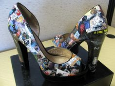 Beautiful Handmade Star Wars High Heels