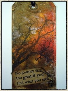Tim Holtz tag from 2008.