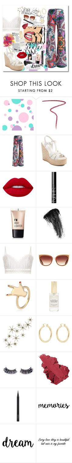 """""""Be Bold"""" by jessicahvh ❤ liked on Polyvore featuring Burberry, Yves Saint Laurent, Nicole, Lime Crime, NARS Cosmetics, Charlotte Russe, Eyeko, Zimmermann, Barton Perreira and Mullein & Sparrow"""