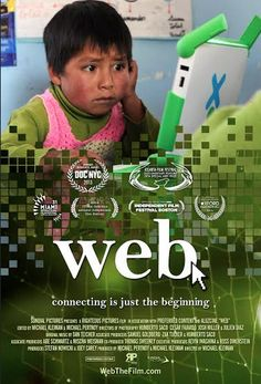 "WEB documentary film features One Laptop Per Child (OLPC) Founder, Nicholas Negroponte and chronicles children in remote villages in the Andes Mountains and Amazon Jungle gaining access to XO laptops and the Internet for the first time. It is a poignant embodiment of the theme of Social Media Week's global conference, ""Reimagining Human Connectivity."""