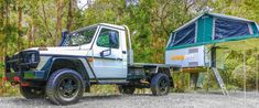 Mercedes Benz G Professional Slide on Camper. Trayon Campers