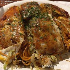 170331 なごみ@神田小川町 ピリ辛 950円 #お好み焼き #okonomiyaki  #飯スタグラム  #lunch #ランチ #japanesefood #和食 #foodporn #instafood #foodphotography #foodpictures #food #webstagram #instagram #foodstagram #foodpics #yummy #yum #food #foodgasm #foodie #instagood #foodstamping