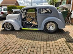 Ford pop OA93 outlaw anglia dragcar hotrod drag race ford anglia