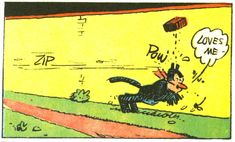 CATS IN COMICS: Krazy Kat by Gene Kannenberg, Jr. | Doctor Comics