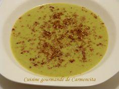 Velouté de brocolis au boursin ail et fines herbes http://www.carmen-cuisine.com/article-veloute-de-brocolis-au-boursin-ail-et-fines-herbes-120886387.html