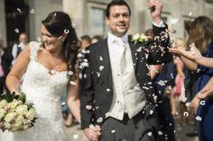 Haileybury College wedding photos confetti (Image © Harry Richards)