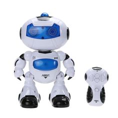 4 in 1 Solar RC Robot Toy Remote Control Musical Electronic Toy Walk D – Regeneration Zone
