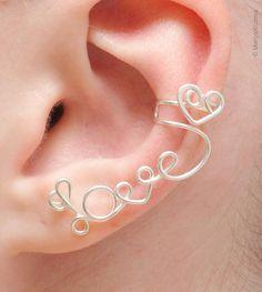 Love ear cuff