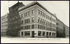Steketee & Sons Building, Ionia & Fountain (now the old Peninsular Club building). - 1908