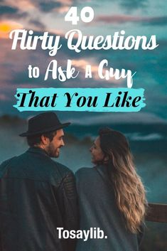 Chances are, even if you have been together for a little while, there is still so much to learn about someone. Here are some flirty questions to ask a guy in person and in a text. Silly Questions To Ask, Romantic Questions, Questions To Get To Know Someone, First Date Questions, Flirty Questions, Questions To Ask Your Boyfriend, Getting To Know Someone, This Or That Questions, First Date Topics
