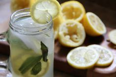 The Seasonal Family, an unrefined blog: Homemade Lemonade Sweetened with Honey
