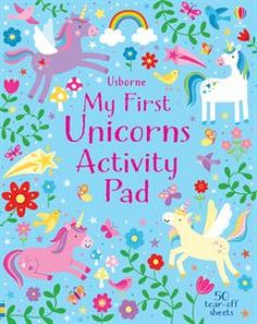 """Little Children's Unicorns Pad"" at Usborne Children's Books Unicorn Books, Little Children, Young Children, Logic Games, Picture Puzzles, Free Activities, School Holidays, Childrens Books, Doodles"