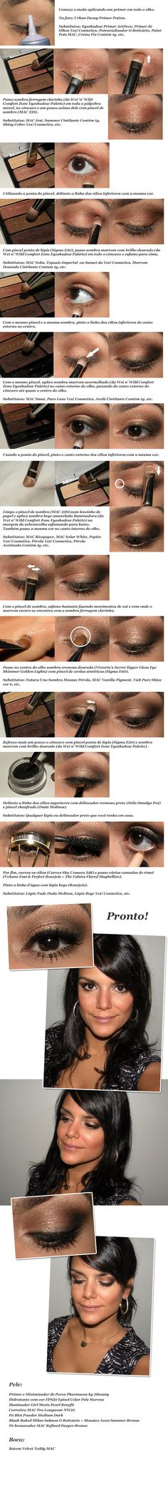 Beautiful eye. I know it's in Spanish, but easy step by step pics.
