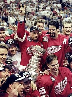 1998 Back to Back Stanley Cup Championships. Detroit Red Wings