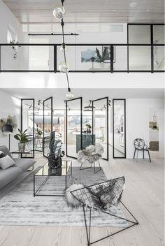 Un appartement au design transparent - PLANETE DECO a homes world