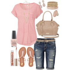 Pink, created by kerimcd on Polyvore