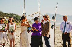 Oregon Beach Wedding