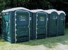 portable toilets before events, how to select how many?