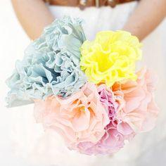 DIY: Crepe Paper Flower Bouquet