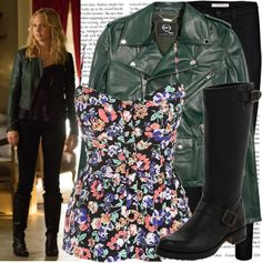 """""""candice accola as caroline forbes on 'the vampire diaries'"""" by cla-90 ❤ liked on Polyvore"""