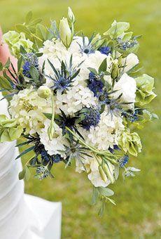 Brides: Laurel & Sam in Greenwich, NY : Wedding Flowers Gallery