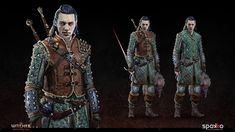 Fantasy Character Design, Character Concept, Character Inspiration, Character Art, High Fantasy, Medieval Fantasy, Fantasy Rpg, Witcher Art, The Witcher