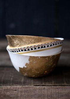 #bowls #gold