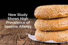 New Study Shows Sesame Allergy May Be More Common Than Some Top 8 Food Allergies Sesame Allergy, Allergy Reactions, Tree Nut Allergy, Nut Allergies, Recipe Collection, Kids Meals, United States, Study, Healthy