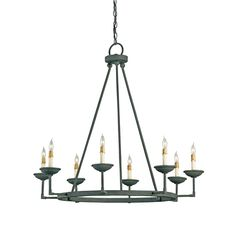 Ormewood Chandelier Lighting   Currey and Company