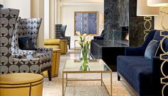 Hotel Blackhawk: The hotel's soaring lobby makes for an impressive entrance. Davenport Iowa