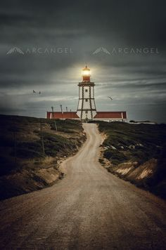 Photograph - Road To Lighthouse by Carlos Caetano , Dirt Road Anthem, People Art, Beautiful Images, Fine Art America, Scenery, Around The Worlds, Country Roads, Gallery, Prints