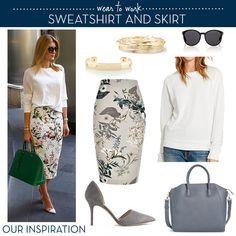 Wear to Work: Sweatshirt and Shirt