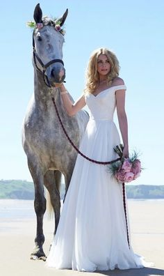 Wedding dress idea; Featured Dress: Stephanie Allin Couture