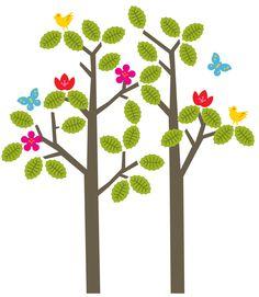 Tree Wall Decal | Tree Wall Sticker | WallCandy® Arts