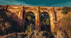 Aquaduct - Aquaduct Arroyo de Don Ventura, Montes de Malaga, Spain