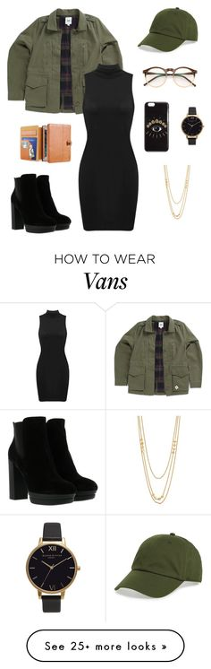 """Untitled #297"" by jaydeecurtis on Polyvore featuring Vans, Hogan, Wildfox, BP., Kenzo, Olivia Burton and Gorjana"