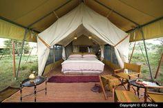 Mobile Luxury Tented Camp, Serengeti, Tanzania