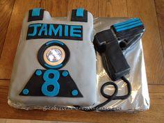 Cool Laser Combat Cake... Coolest Birthday Cake Ideas