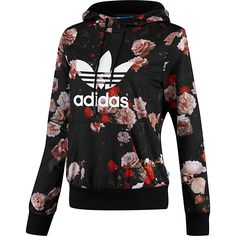 adidas Women's Logo Hooded Sweatshirt