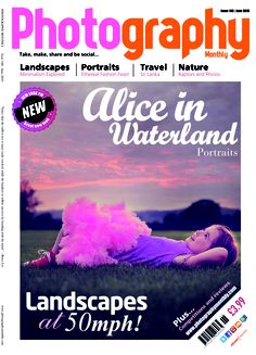 June issue of Photography Monthly. Top stories: Alice in waterland portraits and an ethereal fashion feast for your eyes.  http://www.subscriptionsave.co.uk/Photography-Magazines/Photography-Monthly